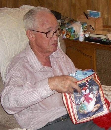 Dad at Christmas